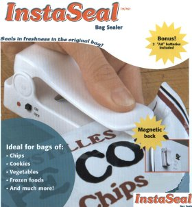 Instaseal Bag Sealer from Starfrit Kitchenware