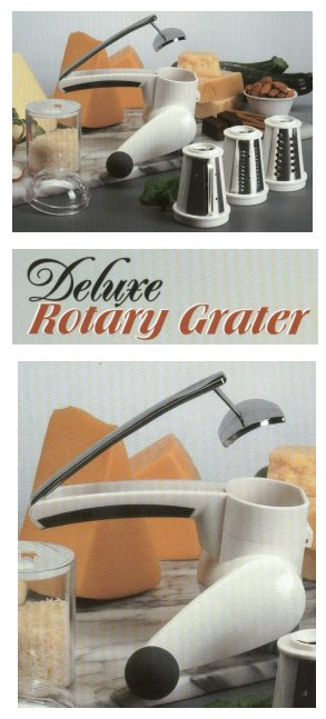 Deluxe Rotary Grater from Starfrit Kitchenware