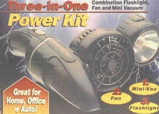 fan vacuum flashlight picture