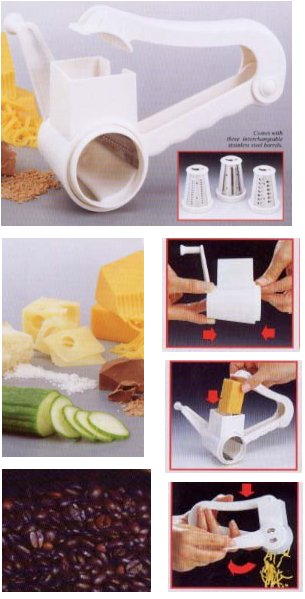 Rotary Grater from Starfrit Kitchenware