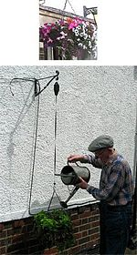 Hanging Basket Watering Four. picture click to read more