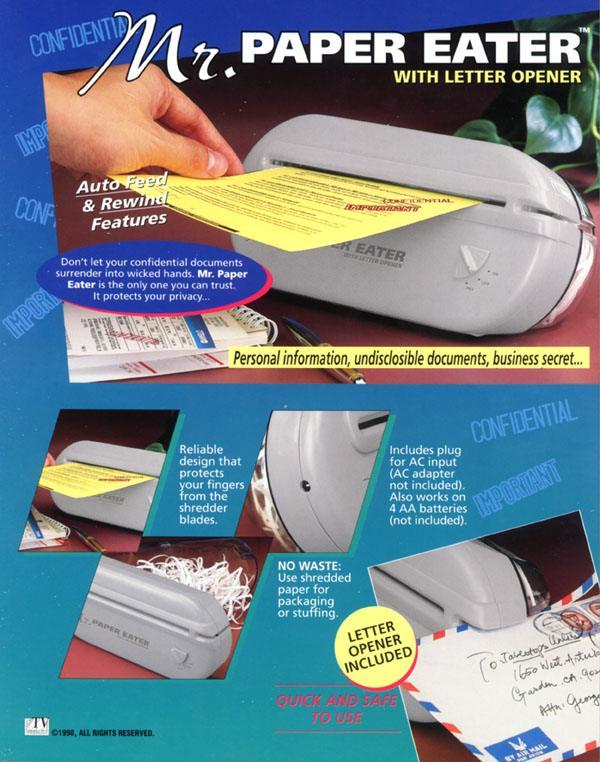 paper shredder picture