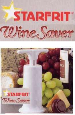 Vacuum Wine Saver from Starfrit Kitchenware