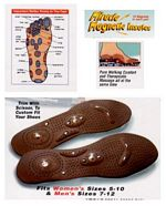 Acupressure Massage Insoles Women picture click to read more