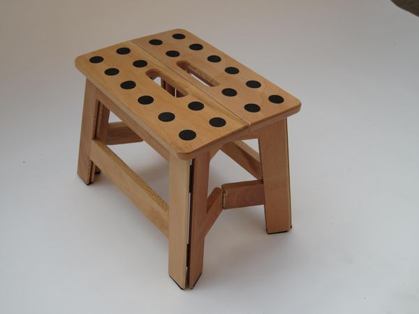 Anti Slip Wooden Stool picture