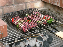 barbeque baskets picture