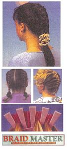 Hair braiding styles with Braid Master picture click to read more