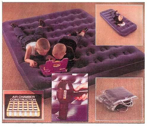 inflatable bed picture