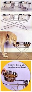 Elevated Dog Bowls picture click to read more