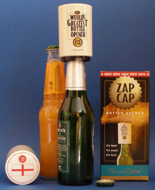 england zap cap bottle openers picture
