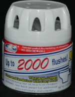 Green In Cistern Toilet Cleaner (Blue Dream Up to 2000 Flushes) picture click to read more