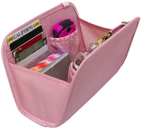 Handbag Organiser In Pink picture