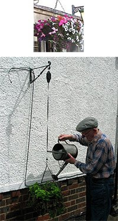 Hanging Basket Watering Four picture