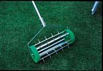 Lawn Aerator (Roll over lawn to lift moss and loosen soil.) picture click to read more