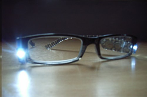 LED Glasses Black picture