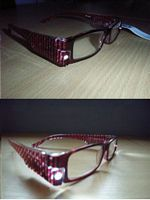 LED Glasses Red picture click to read more