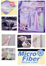 MICROFIBRE MIRACLE CLOTHS-4 PC. SET picture click to read more
