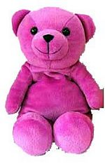 Microwave Teddy Bear Purple picture click to read more