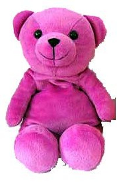 Microwave Teddy Bear Purple picture