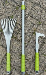 Moss Removal Tool (Mini rake and prong hand tool or 50cm handle) picture click to read more