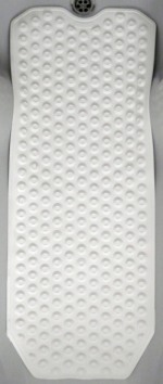 Mould Free Bath Mat White (34.5 x 14 inch.) picture click to read more