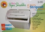 Paper Shredder with Bin picture click to read more