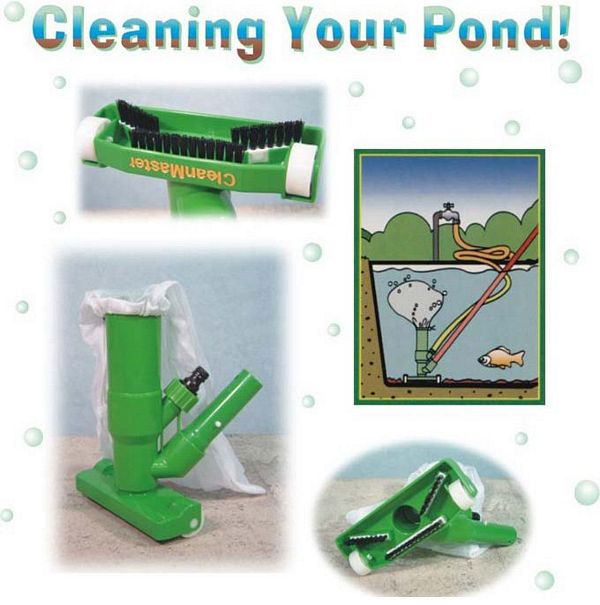 Pond vacuum cleaner for Garden pond hose