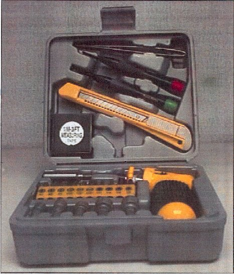 Ratchet Screwdriver And Socket Set Tool Box picture