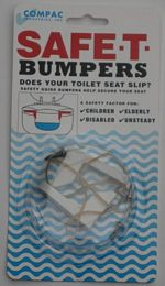 Safe T Bumpers (Stop Toilet Seat Slipping.) picture click to read more