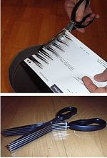 Shredder Scissors picture click to read more