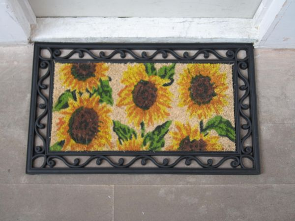 Sunflowers Front and Back Doormat picture