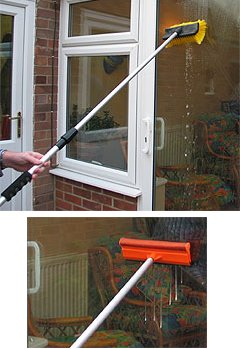 water broom with squeegee picture
