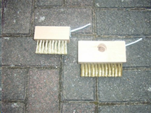 Weed And Moss Removal Brush Spares With Spikes picture