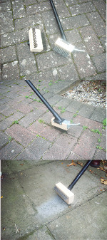 Weed And Moss Removal Brush (remove weeds and remove moss) picture click to read more